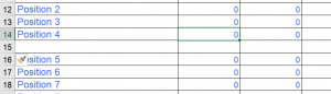 formatting for excel